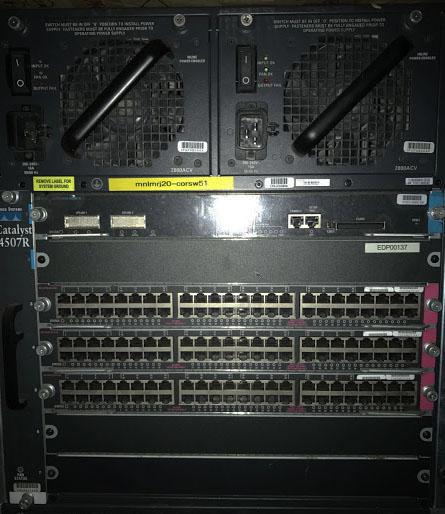 Cisco 4507R Switch