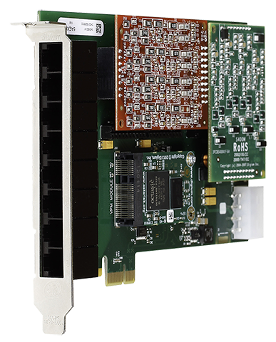 Digium 8 Port Analog Telephony Cards